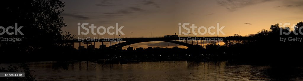 Stockholm in the dawn royalty-free stock photo