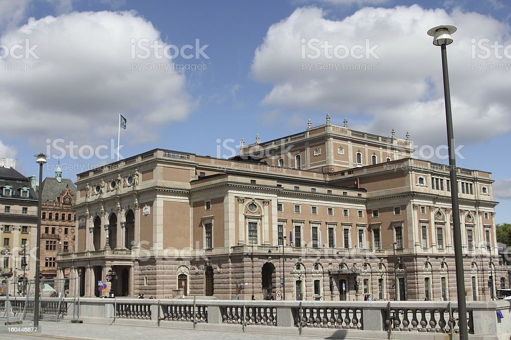 Stockholm - Kungliga Operan the Royal Opera House stock photo