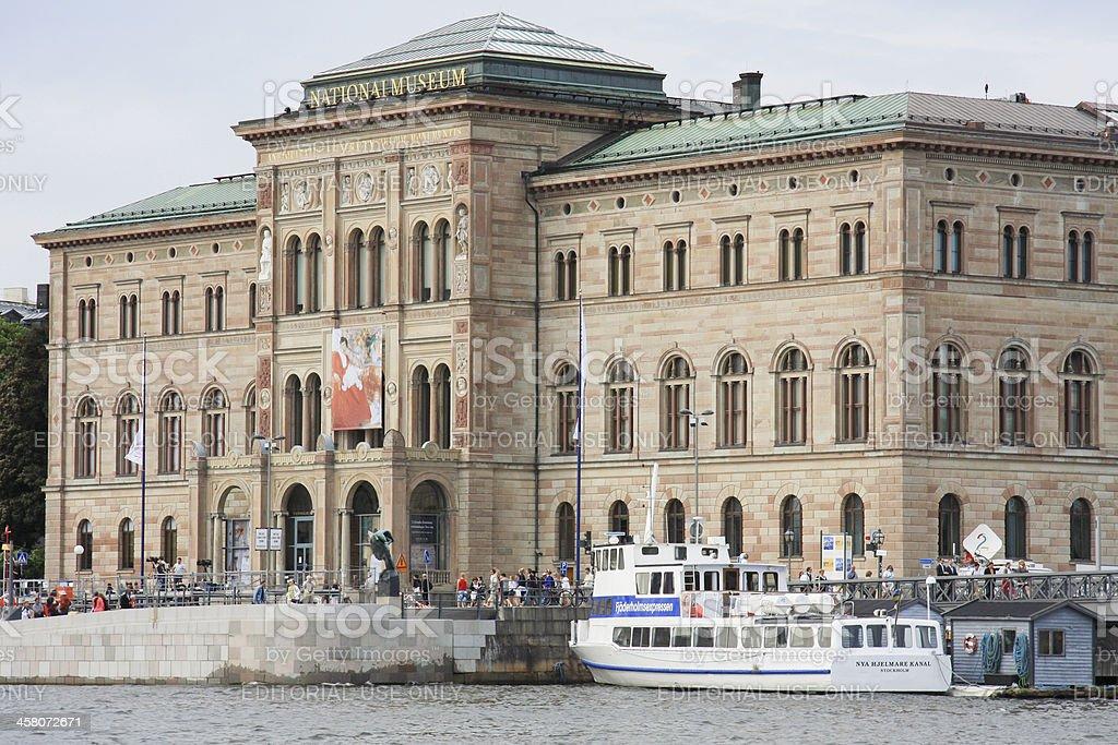 Stockholm NationalMuseum royalty-free stock photo