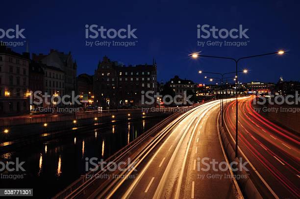 Photo of Stockholm Night Scene
