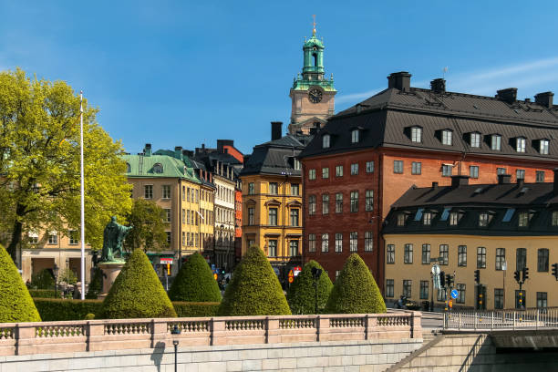 Stockholm: Old Town stock photo