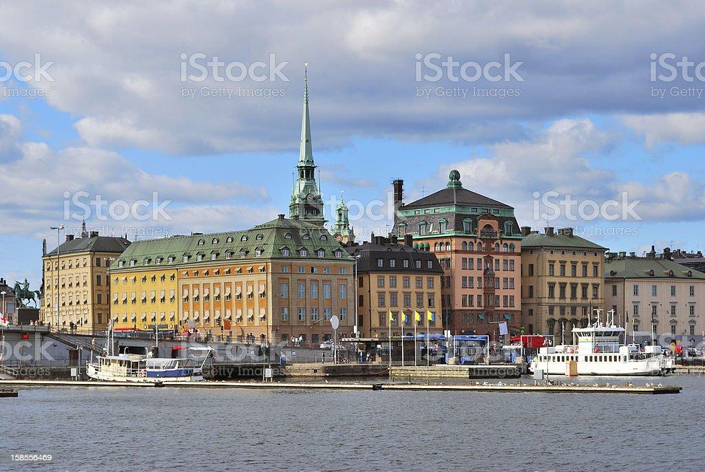 스톡홀름 구도시 royalty-free 스톡 사진
