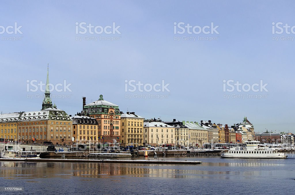 Stockholm Old Town royalty-free stock photo