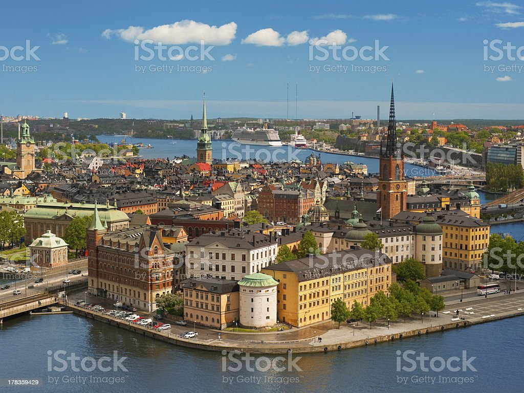 Stockholm, Old Town stock photo