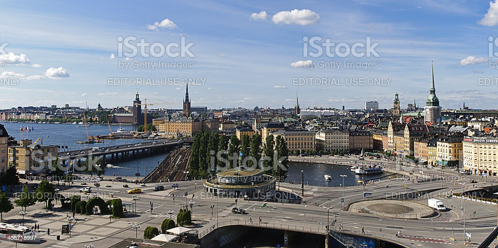 Stockholm old town (Gamla stan), Sweden stock photo