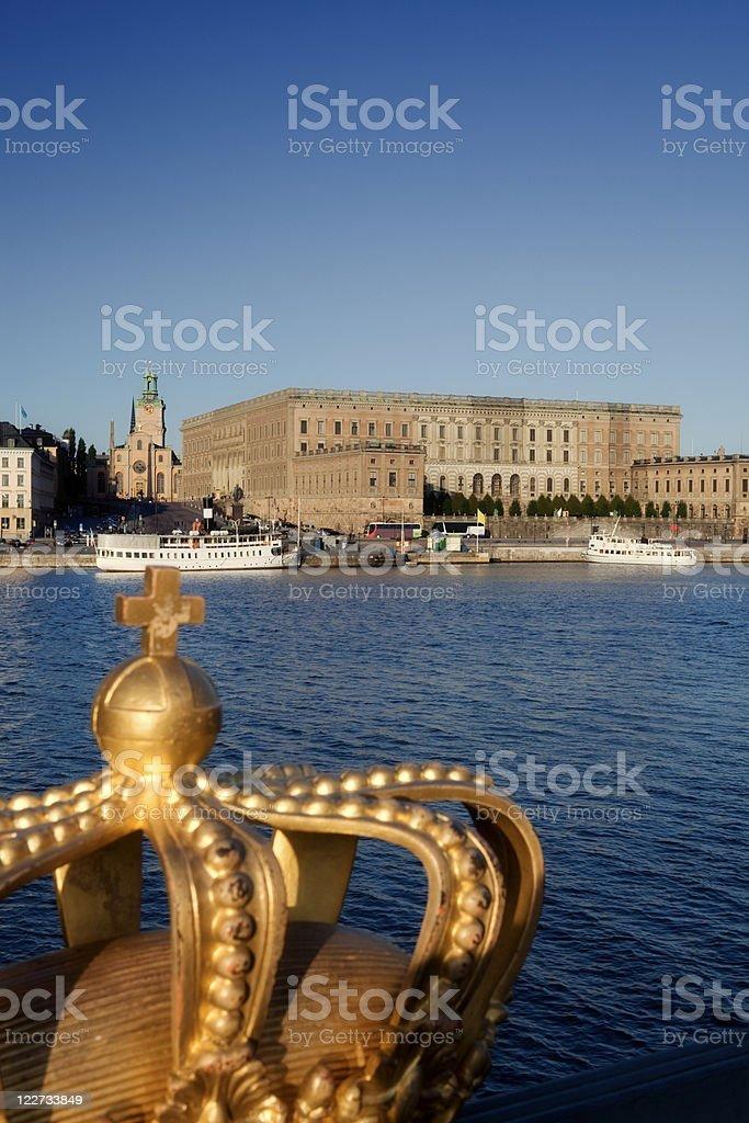 Stockholm Palace royalty-free stock photo