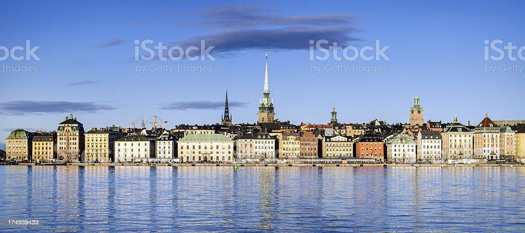 Stockholm Panorama royalty-free stock photo
