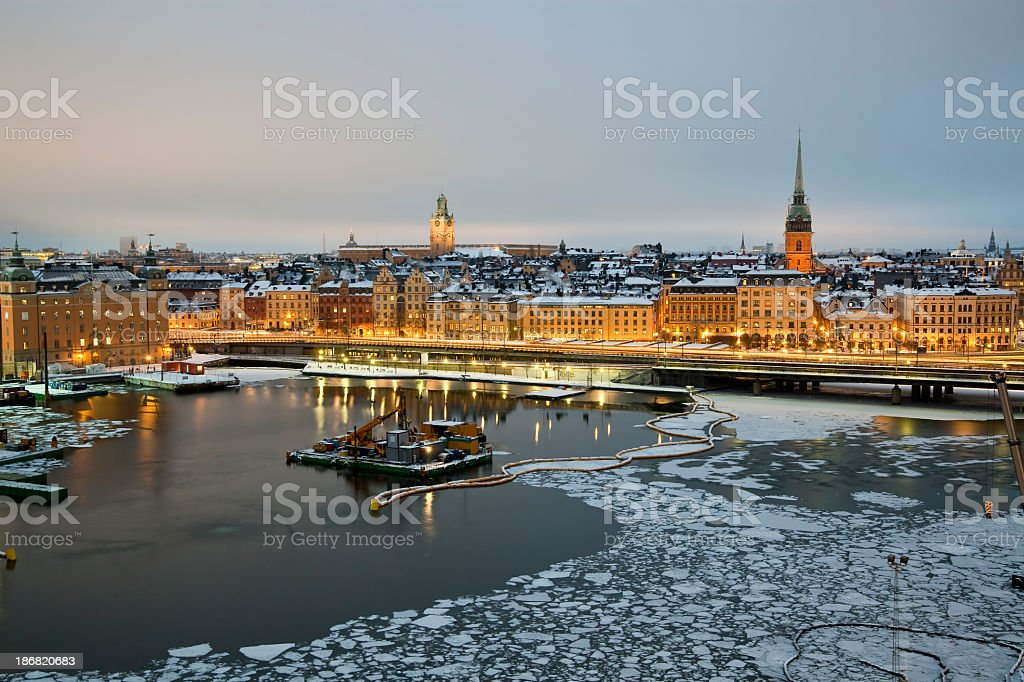 Stockholm stock photo