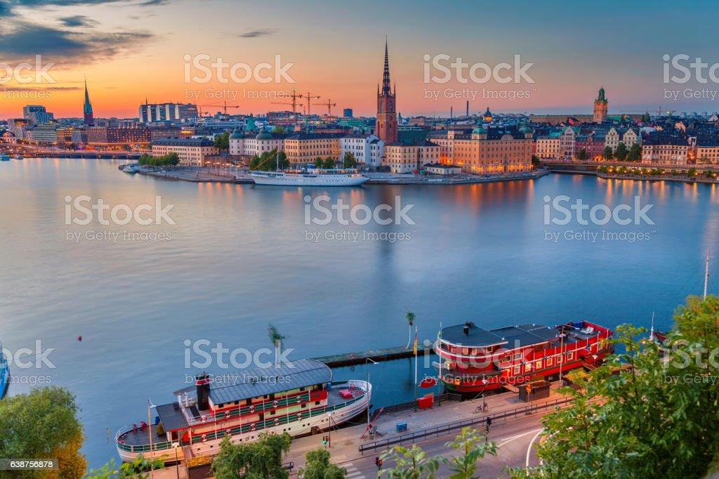 Stockholm. stock photo
