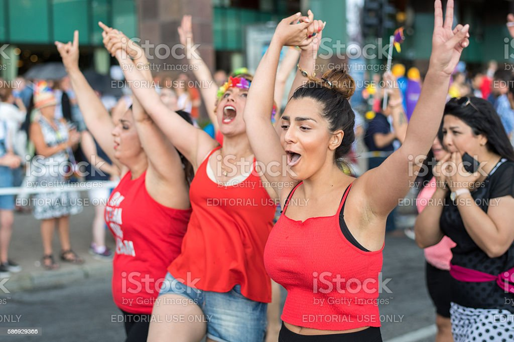 Stockholm Pride Parade 2016 stock photo