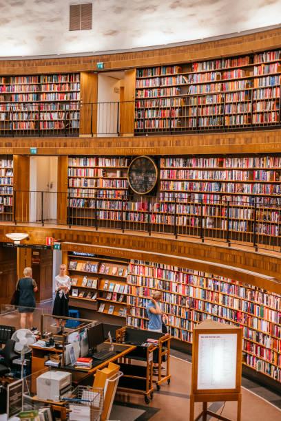 Stockholm Public Library – Foto