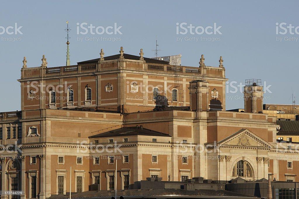 Stockholm Royal Opera stock photo