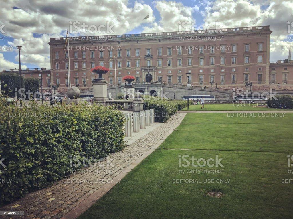 Stockholm Royal Palace, Sweden stock photo