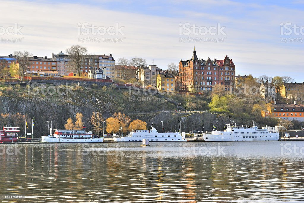 Stockholm, Sodermalm royalty-free stock photo