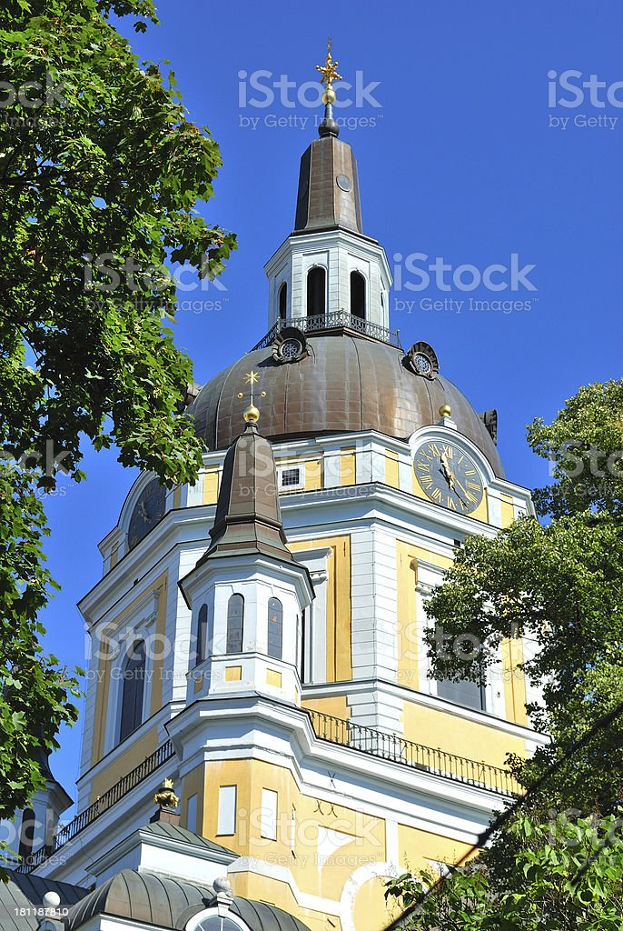 Stockholm. St. Catherine Church royalty-free stock photo