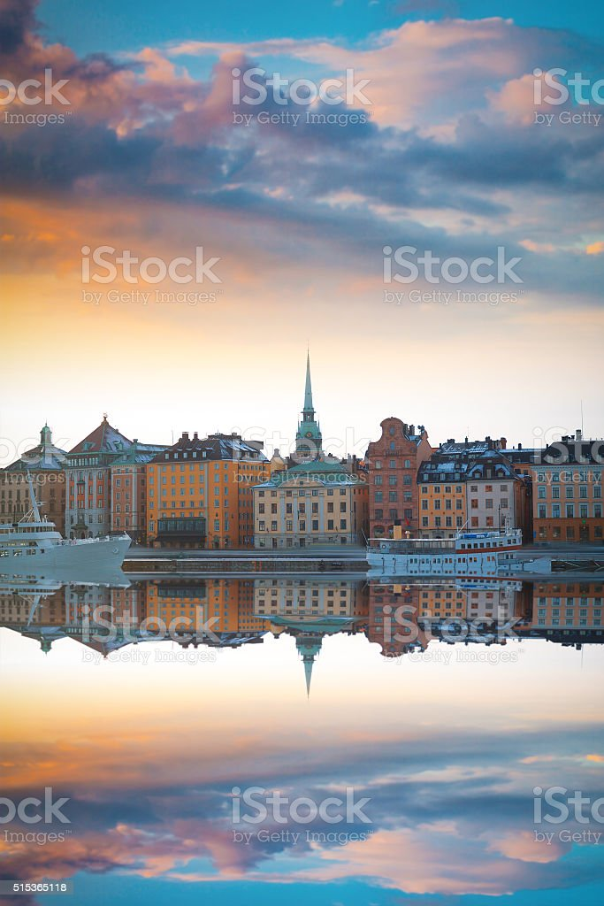 Stockholm, Sweden cityscape stock photo