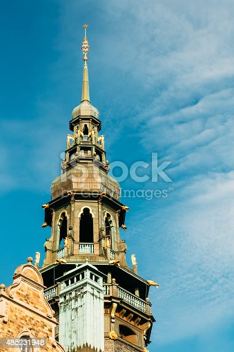 istock Stockholm, Sweden. Famous old building - Nordic Museum 485231948