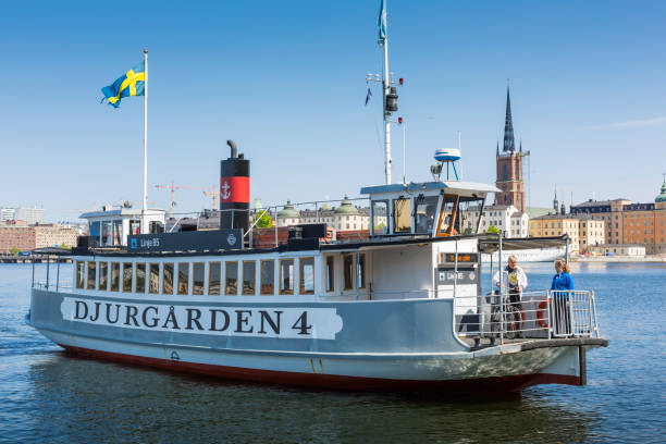 stockholm, sverige - ferry lake sweden bildbanksfoton och bilder