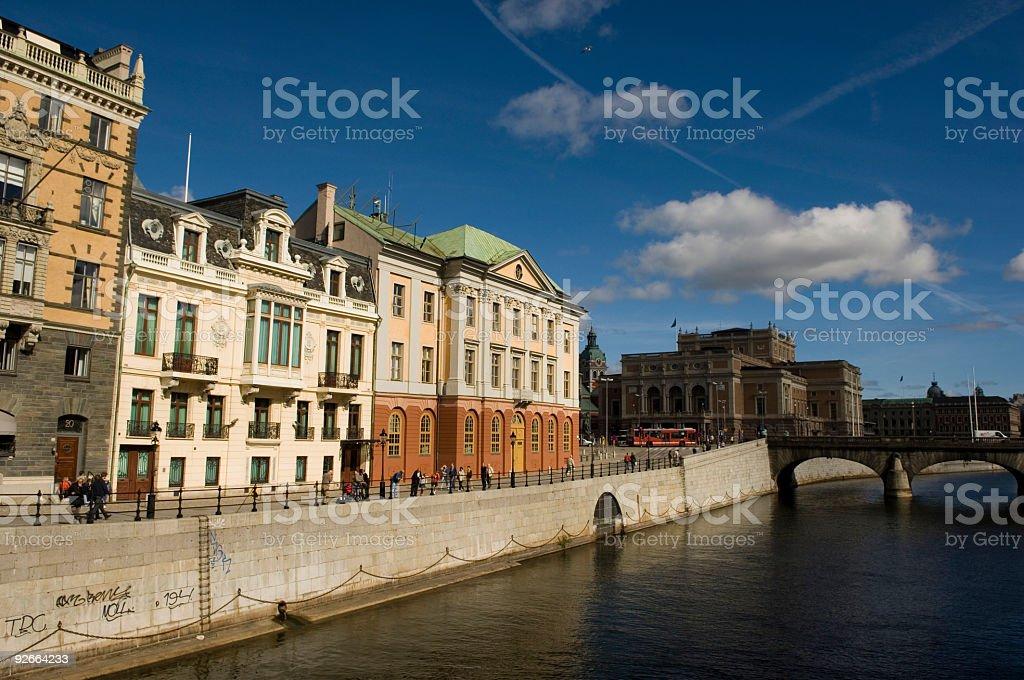 Stockholm Sweden royalty-free stock photo