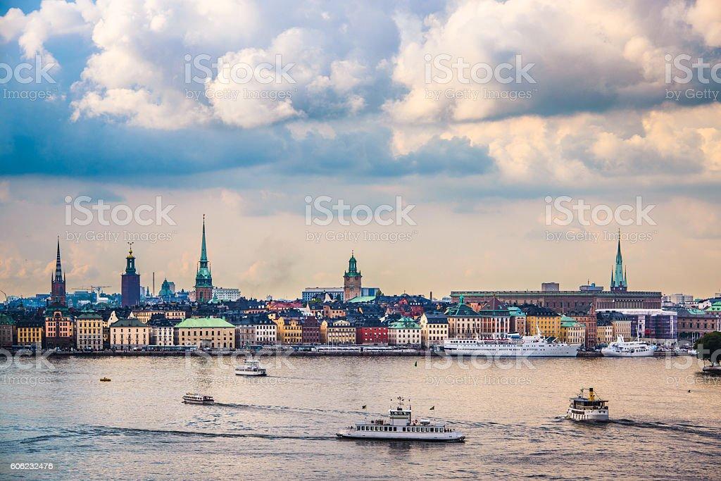 Stockholm, Sweden Skyline stock photo