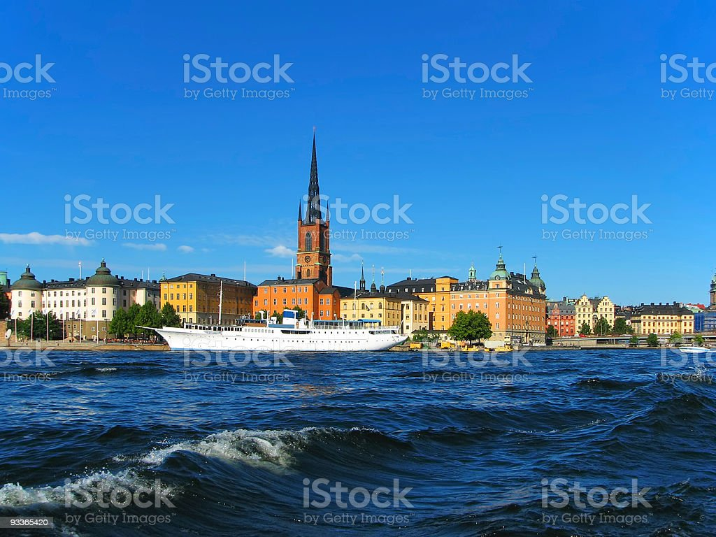 Stockholm, the Old Town royalty-free stock photo