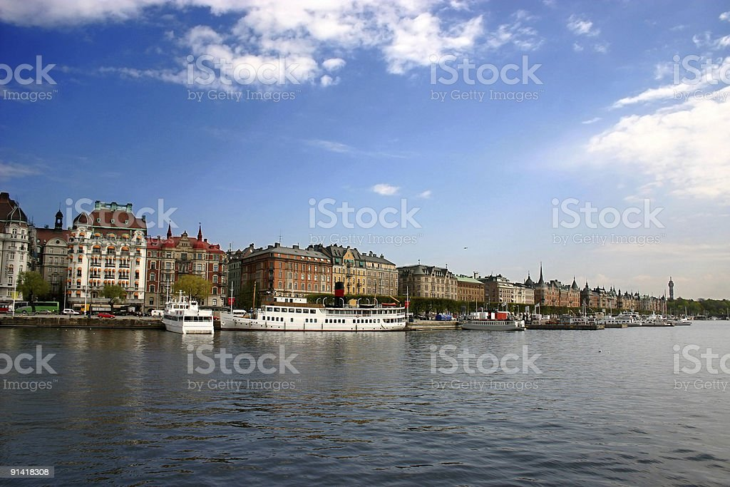 Stockholm View royalty-free stock photo