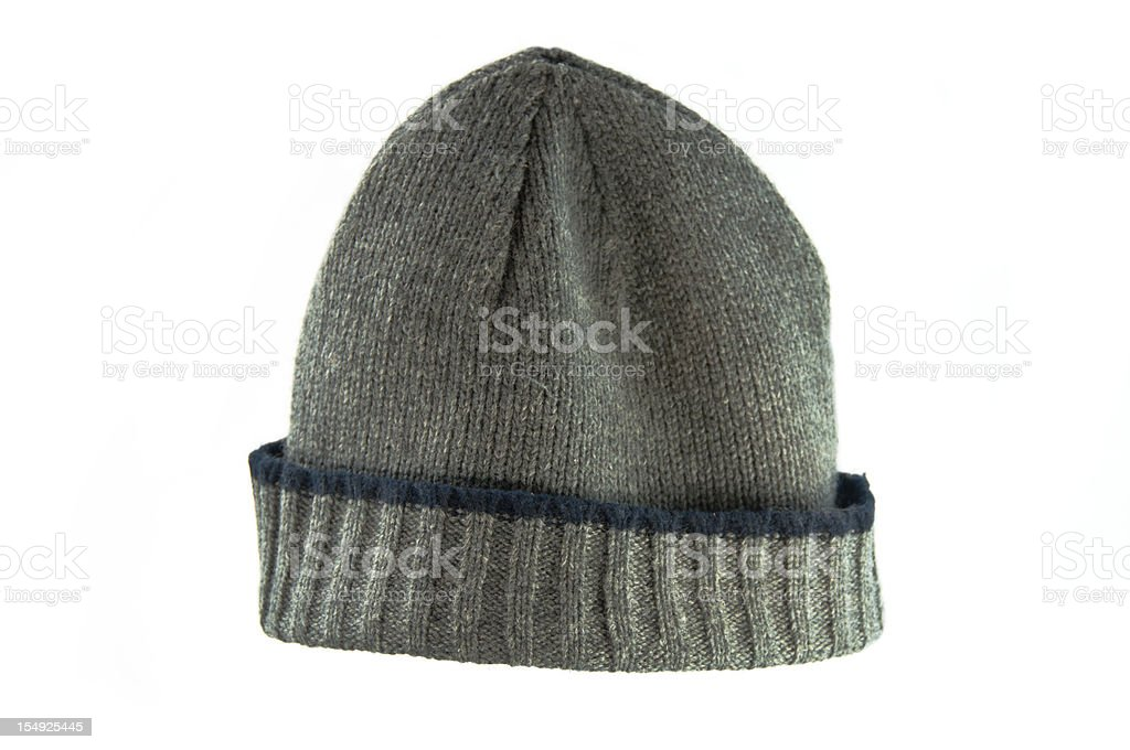 Stocking Hat on White stock photo