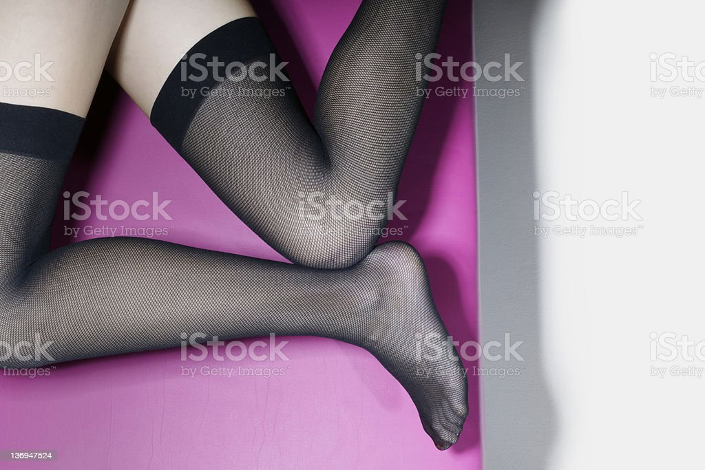 stockings stock photo