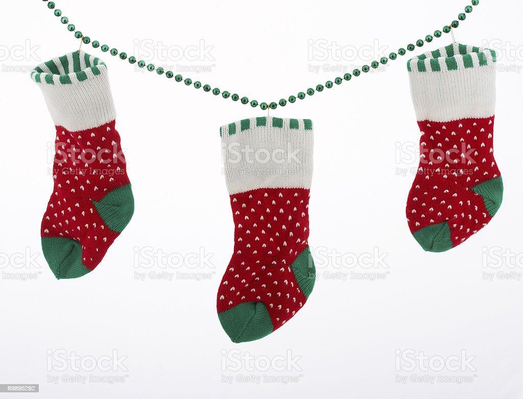 stockings royalty-free stock photo