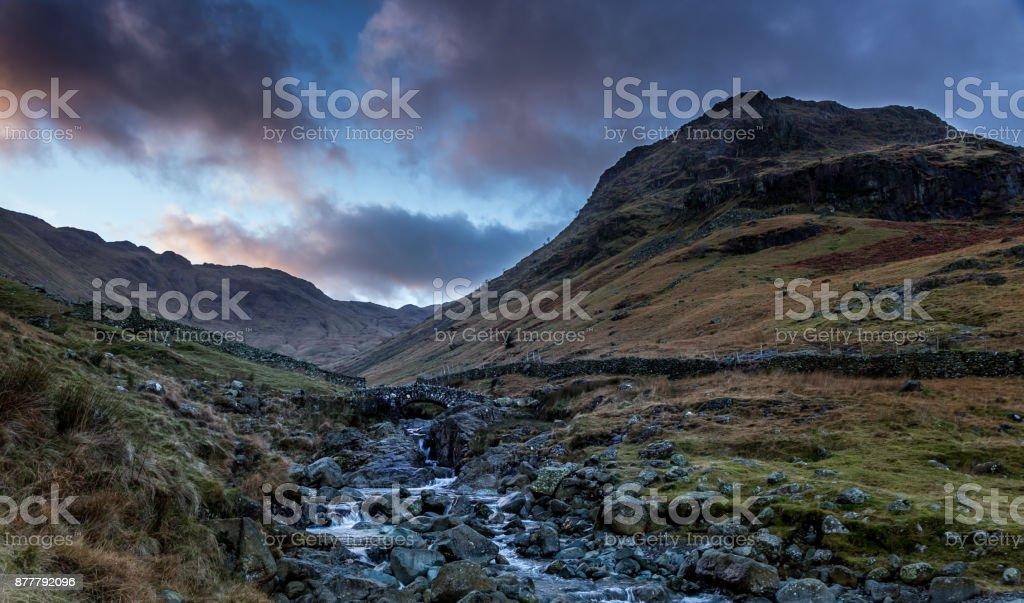 Stockley Bridge stock photo