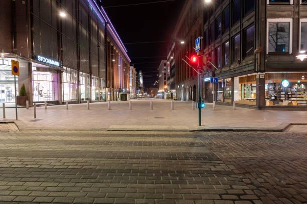 Stockmann department store in Helsinki stock photo