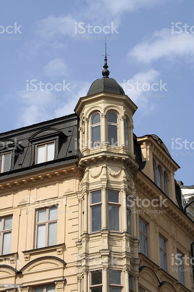 stockolm building royalty-free stock photo