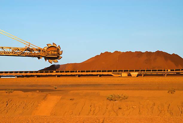 Lagerung Eisenerz Mine – Foto