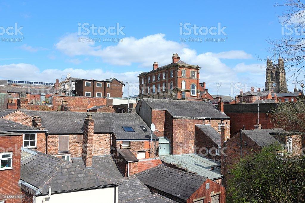 Stockport UK stock photo