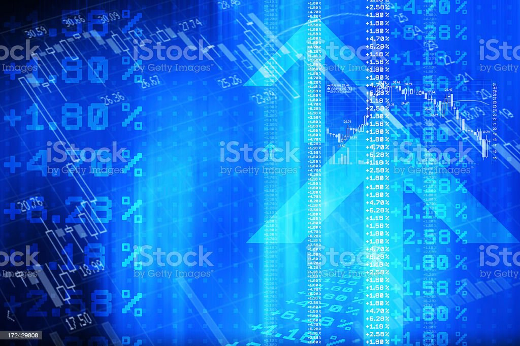 Stocks and Financial Data stock photo