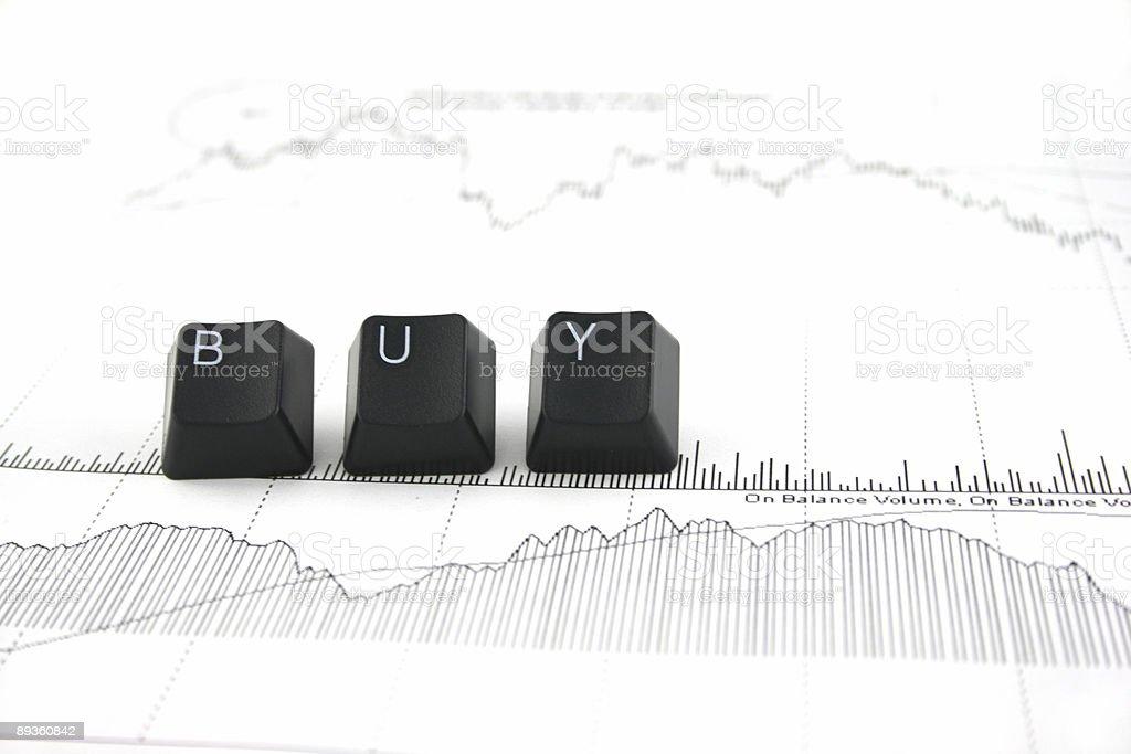 Stocks - Buy2 royaltyfri bildbanksbilder