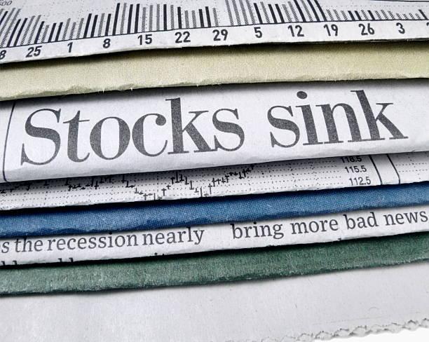 Stocks Sink stock photo