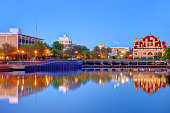Stockton is the county seat of San Joaquin County in the Central Valley of the U.S. state of California