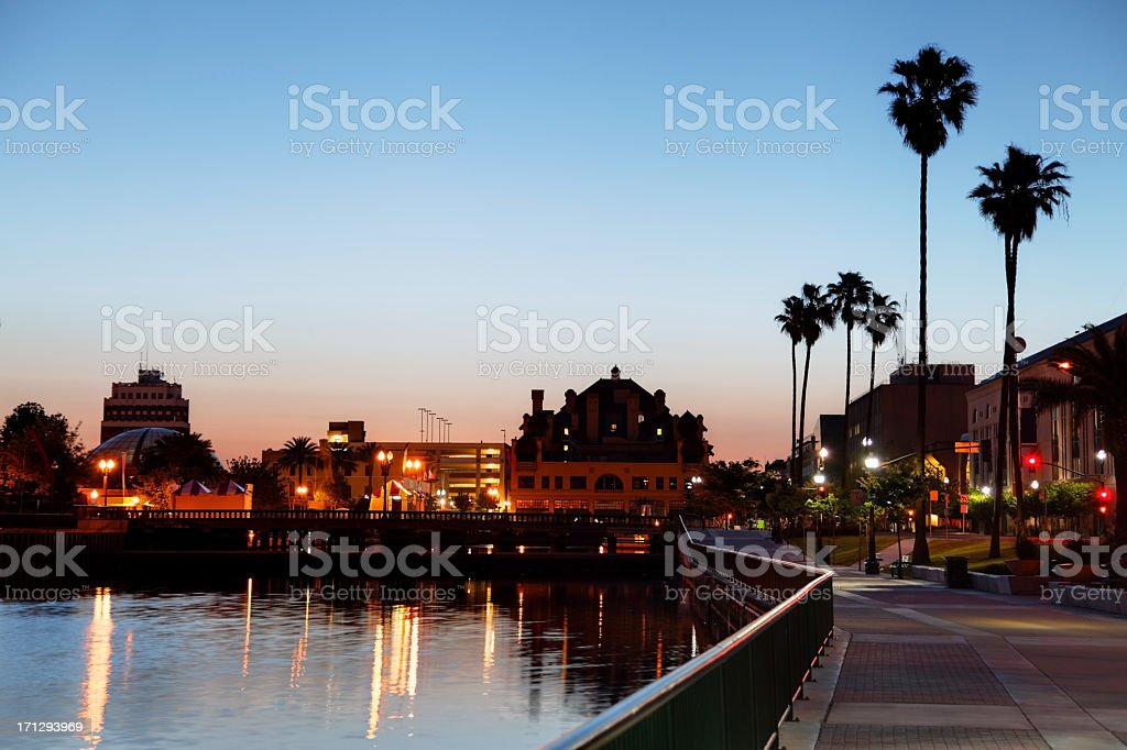 Stockton, California stock photo
