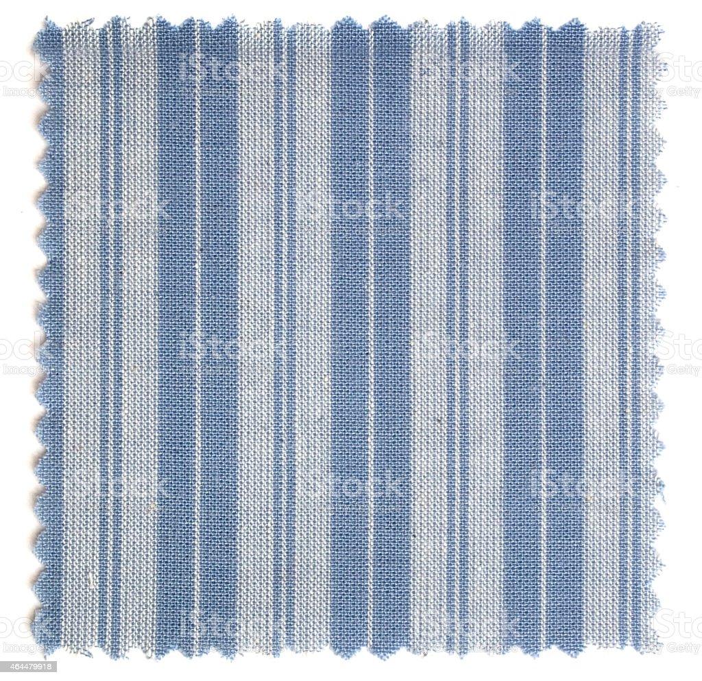 Stoffmuster mit Linien (Baumwolle) stock photo