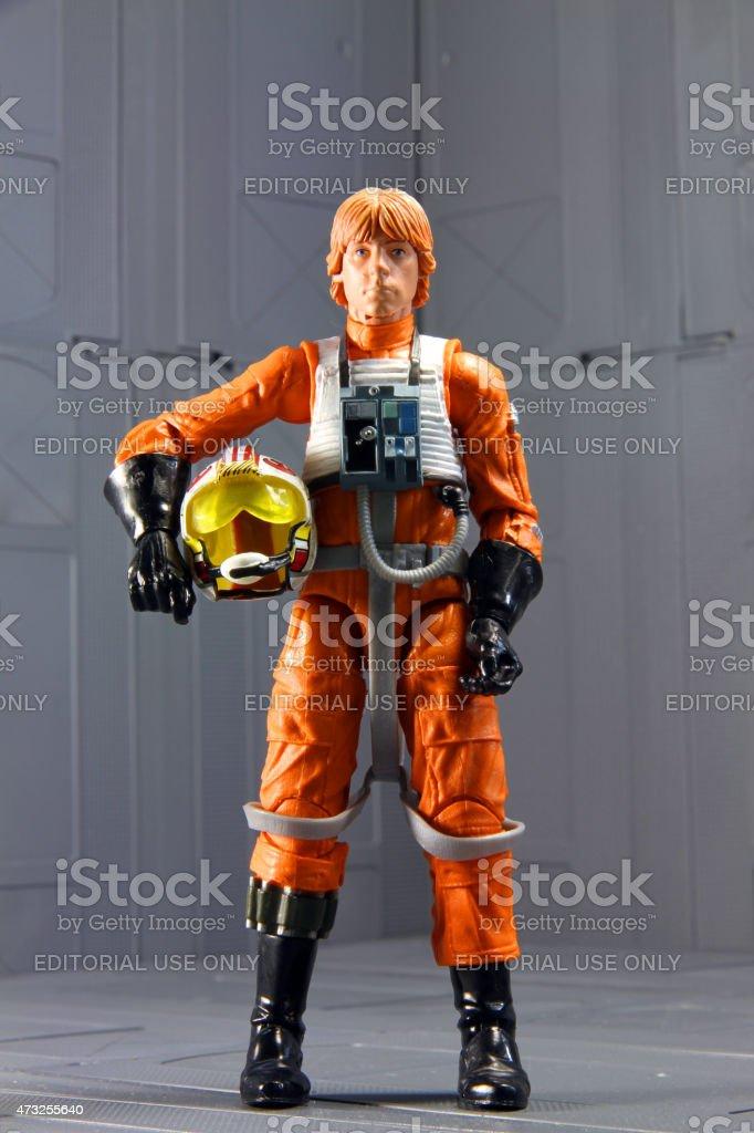 Stoic Jedi stock photo