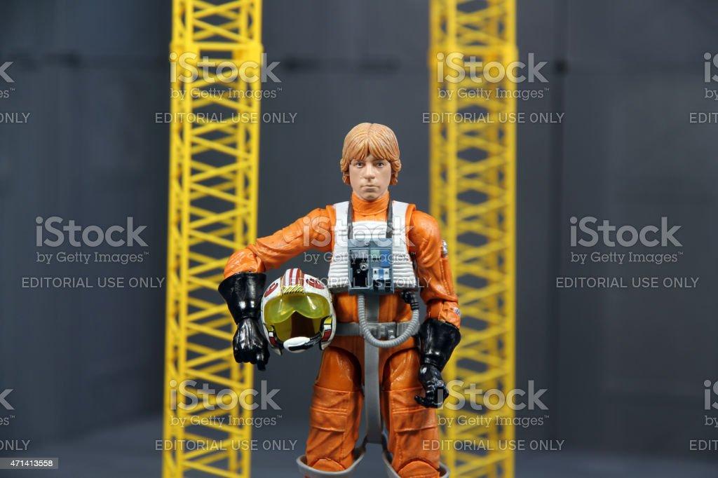 Stoic Luke stock photo