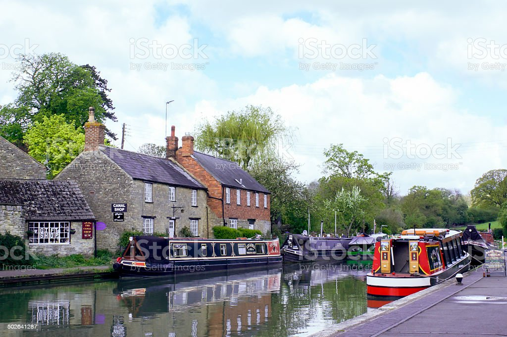 Stoke Bruerne Canal Museum stock photo
