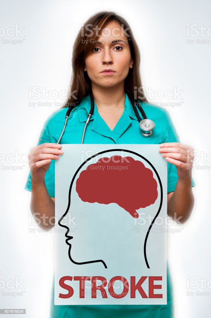 Stoke / Medicine concept (Click for more) stock photo