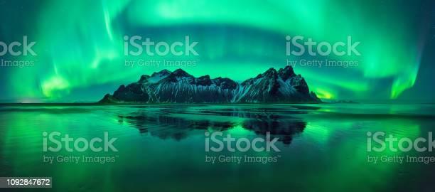 Photo of Stokksnes aurora