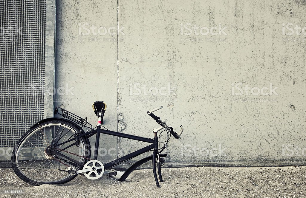 Stolen bicycle stock photo