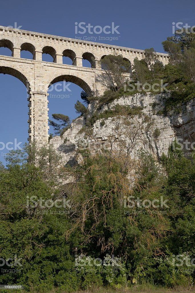 Stone Aqueduct stock photo