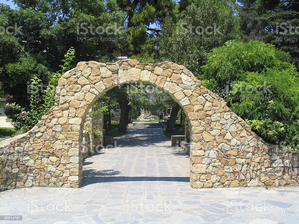 Stone Arch. royalty-free stock photo