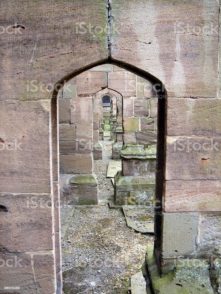 stone arches royalty-free stock photo