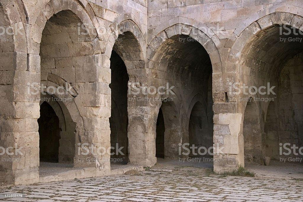 Stone Los arcos de entrada foto de stock libre de derechos